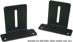 Partlow Mounting Brackets for MRC8000 and Versachart