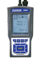 Oakton CD 650 Conductivity/Dissolved Oxygen Meter