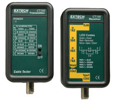 Extech CT100 Network Cable Tester