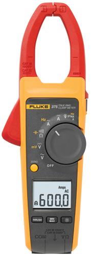 Fluke 375 Clamp Meter : Fluke true rms ac dc clamp meter meters