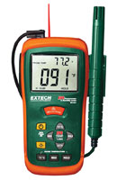 Extech RH101 Hygro-Thermometer and Infrared Thermometer
