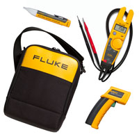 Fluke T5-600 / 62 / 1ACII IR Thermometer & Electrical Tester Kit