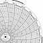 Honeywell 680015-389  Ink Writing Circular Chart