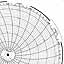 Honeywell 680015-452  Ink Writing Circular Chart