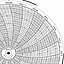 Honeywell 680015-578  Ink Writing Circular Chart