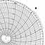 Honeywell 12573  Ink Writing Circular Chart