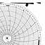 Honeywell 14203  Ink Writing Circular Chart