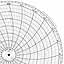Honeywell 14695  Ink Writing Circular Chart