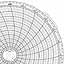Honeywell 14967  Ink Writing Circular Chart