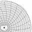 Honeywell 15185  Ink Writing Circular Chart