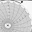 Honeywell 16482  Ink Writing Circular Chart