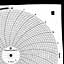 Foxboro 898416  Ink Writing Circular Chart