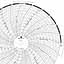 Foxboro 898418-L  Ink Writing Circular Chart