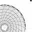 Honeywell 659965-195  Ink Writing Circular Chart