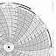 Honeywell 680015-097  Ink Writing Circular Chart