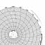 Honeywell 24001660-238  Ink Writing Circular Chart