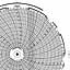 Honeywell 24001661-116  Ink Writing Circular Chart