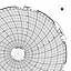 Honeywell 24001661-203  Ink Writing Circular Chart
