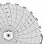 Honeywell 24001660-021  Ink Writing Circular Chart