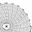 Honeywell 24001660-047  Ink Writing Circular Chart