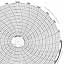 Honeywell 24001660-072  Ink Writing Circular Chart