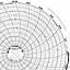 Honeywell 24001660-074  Ink Writing Circular Chart