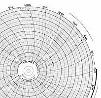 Honeywell 24001660-119  Ink Writing Circular Chart