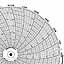 Honeywell 24001660-632  Ink Writing Circular Chart
