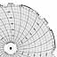 Honeywell 24001661-008  Ink Writing Circular Chart