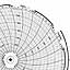 Honeywell 24001661-012  Ink Writing Circular Chart