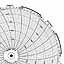 Honeywell 24001661-015  Ink Writing Circular Chart