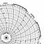Honeywell 24001661-035  Ink Writing Circular Chart
