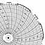 Honeywell 24001661-037  Ink Writing Circular Chart
