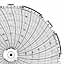 Honeywell 24001661-044  Ink Writing Circular Chart