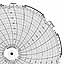 Honeywell 24001661-045  Ink Writing Circular Chart