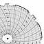 Honeywell 24001661-057  Ink Writing Circular Chart
