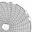 Honeywell 24001661-061  Ink Writing Circular Chart