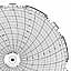 Honeywell 24001661-070  Ink Writing Circular Chart