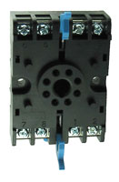 Autonics 8 Pin Front Wired Socket w/DIN Rail Mount
