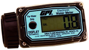 GPI 01N Series Water Meter