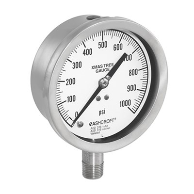 Ashcroft 1020S Christmas Tree Pressure Gauge