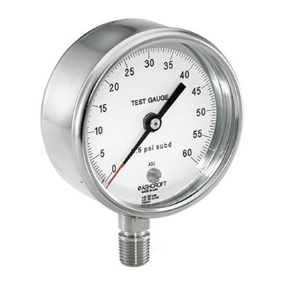 Ashcroft Type 1084 Pocket Test Gauge