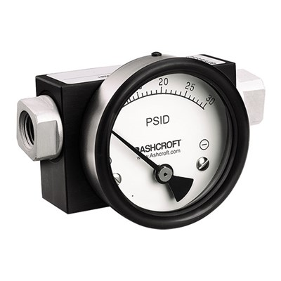 Ashcroft 1130 Series Differential Pressure Gauges
