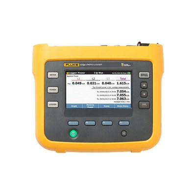 Fluke 1732 / 1734 Three-Phase Electrical Energy Loggers