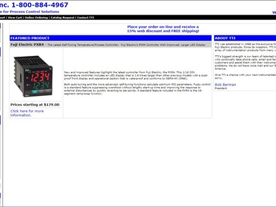 1998- Website launched