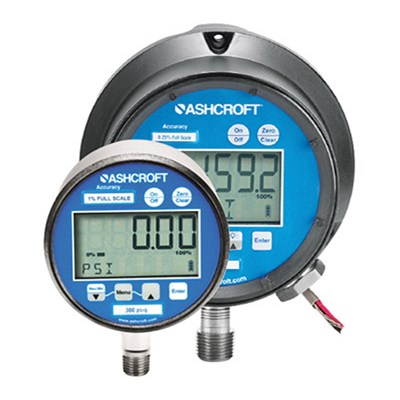 Ashcroft 2074, 2174, and 2274 Digital Industrial Gauges