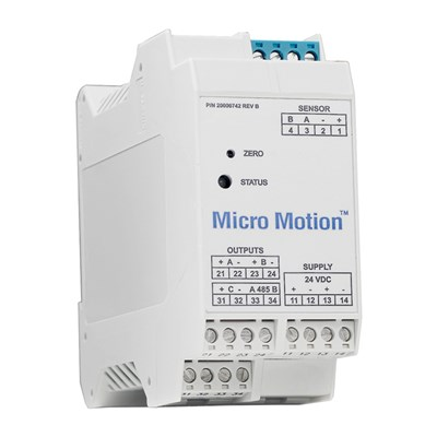 Micro Motion 2500 Multiple Variable Flow Transmitter