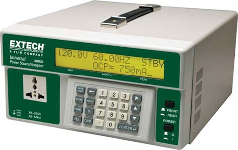 Extech 380820 Universal AC Power Source + AC Power Analyzer
