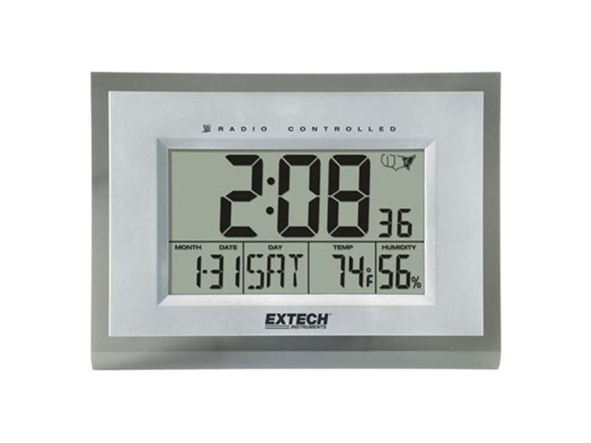 Extech 445706 Hygro-Thermometer Clock