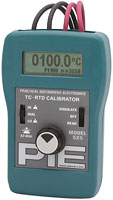 PIE 525 TC & RTD Dual Calibrator with Auto Stepping